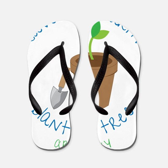 Save Our Earth Flip Flops