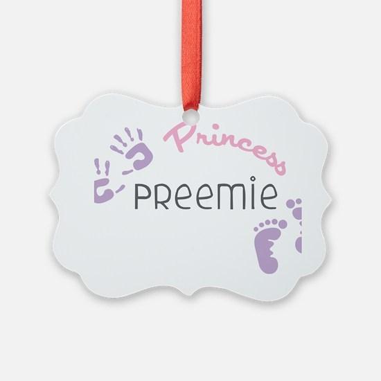 Princess Preemie Ornament