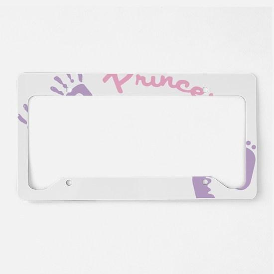 Princess Preemie License Plate Holder