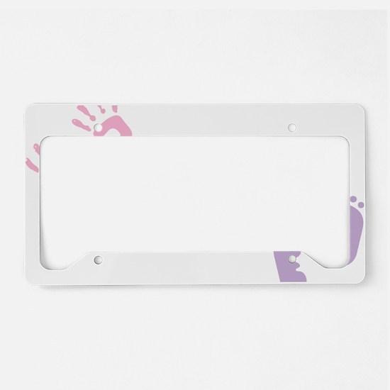 Preemie Awareness License Plate Holder