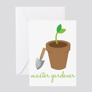 Master Gardener Greeting Card