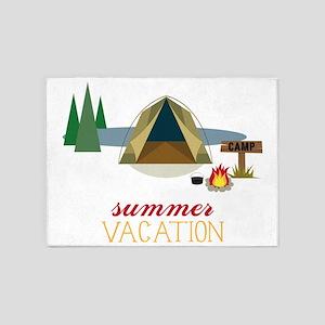 Summer Vacation 5'x7'Area Rug