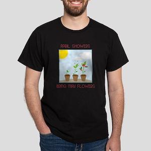 May Flowers Dark T-Shirt