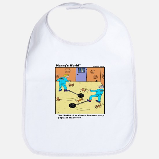 PRISON GAME ROLL-A-RAT Bib