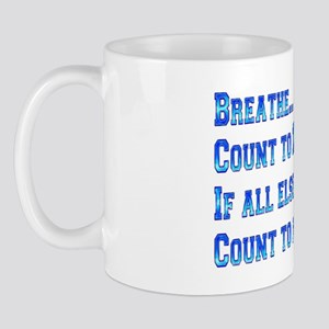 Breathe And Count Butterfly Mug