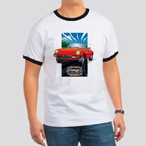 Foreign Auto Club - Framed Italian 3 Ringer T