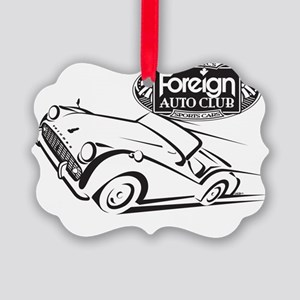 Foreign Auto Club - British Icon  Picture Ornament