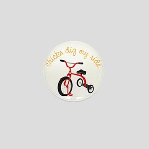 My Ride Mini Button