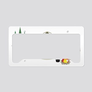 Camping License Plate Holder
