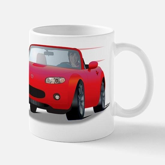 Foreign Auto Club - Red Japanese 1a Mug