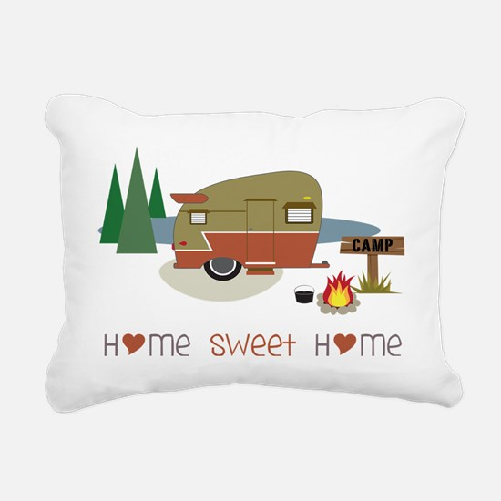 Home Sweet Home Rectangular Canvas Pillow