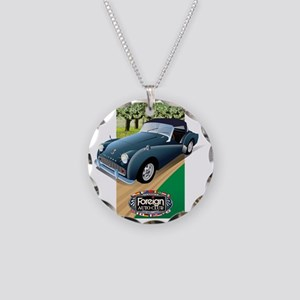 Foreign Auto Club - British  Necklace Circle Charm