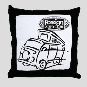 Foreign Auto Club - German Icon 4c Throw Pillow