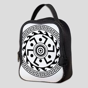 Greek Art - Decorative Circle Neoprene Lunch Bag