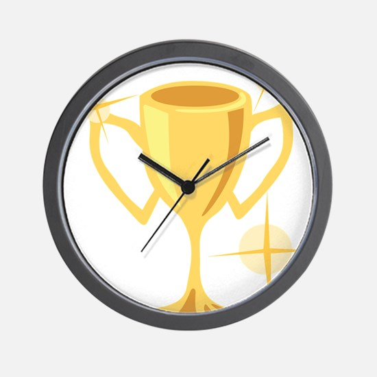 Trophy Cup  Wall Clock
