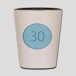 Thirty Shot Glass