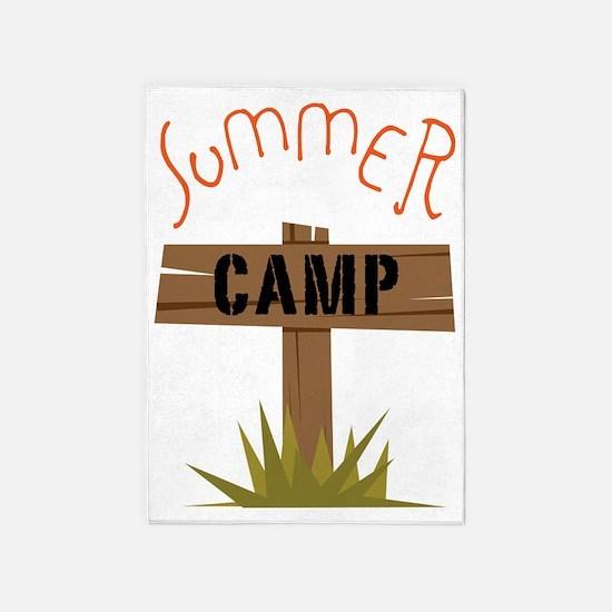 Summer Camp 5'x7'Area Rug