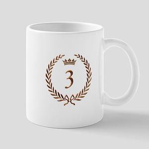 Napoleon gold number 3 Mug