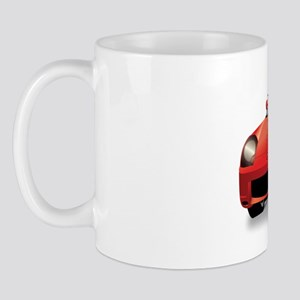 Foreign Auto Club - Red Japanese 2a Mug