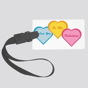 Be My Valentine Large Luggage Tag