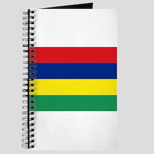 The Mauritius (Maurice) flag Journal