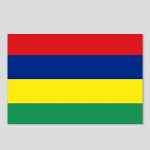 The Mauritius (Maurice) flag Postcards (Package of