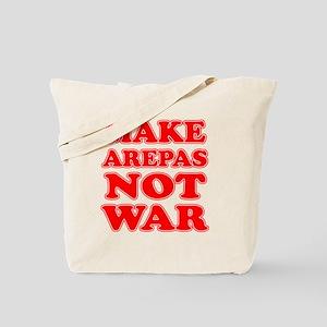 Make Arepas Not War Tote Bag