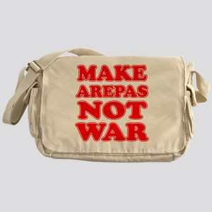 Make Arepas Not War Messenger Bag