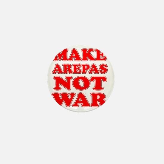 Make Arepas Not War Mini Button