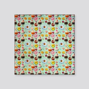 """Sweets Square Sticker 3"""" x 3"""""""