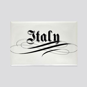 Italy Gothic Rectangle Magnet