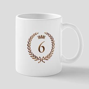 Napoleon gold number 6 Mug