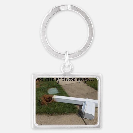 Bad Day Landscape Keychain