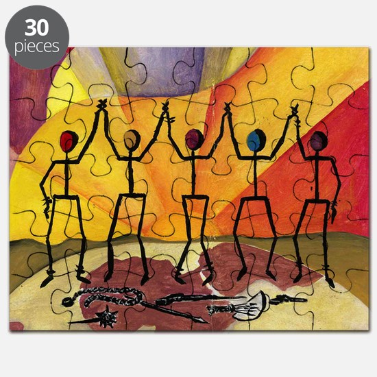 Pieces for Peace, February 2013 Puzzle