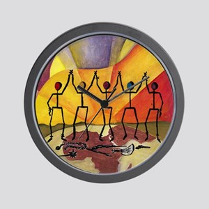 Pieces for Peace, February 2013 Wall Clock
