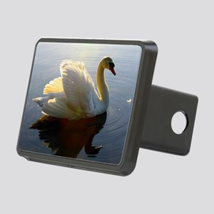 swan shirt Rectangular Hitch Cover