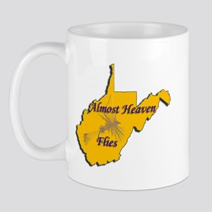 Almost Heaven Flies Mug