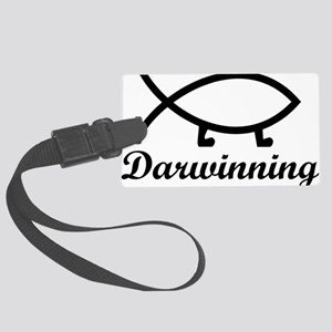 darwinningrectangle Large Luggage Tag