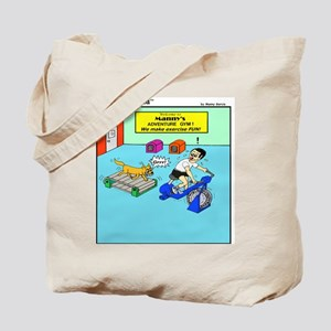 ADVENTURE GYM Tote Bag