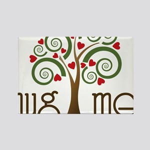Hug Me Rectangle Magnet