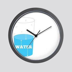 Glass Theory Wall Clock