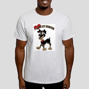 I love My Minpin Light T-Shirt