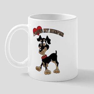 I love My Minpin Mug