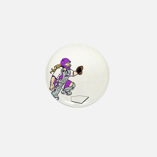 purple2 Access Denied on black Mini Button