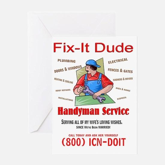 Fix-It Dude Greeting Card