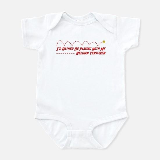 Tervuren Play Infant Bodysuit
