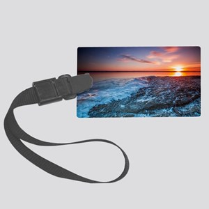 Fire and Ice Large Luggage Tag