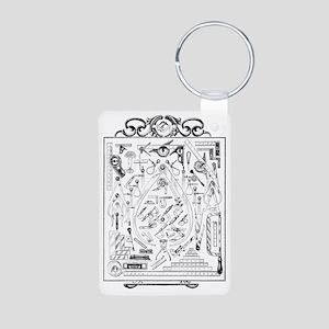 Machinist Tools Masonic Fr Aluminum Photo Keychain