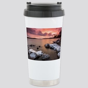 Ice  Fire Stainless Steel Travel Mug
