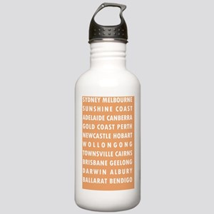 Peach AU Cities Stainless Water Bottle 1.0L